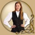 Costume - Womens Black Vest